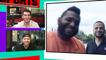 Pablo Sandoval -- Awesome Pre-Valentine's Day Surprise ... Caught On Video (VIDEO)
