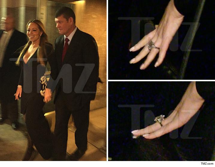 mariah carey im engaged - Mariah Carey Wedding Ring