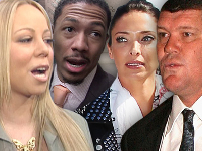 Mariah Carey, James Packer -- Oops ... Neither of Us Are Divorced