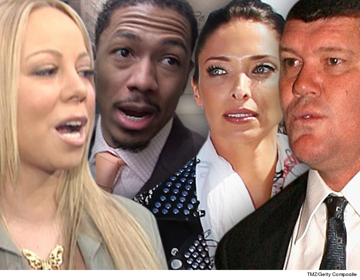 Mariah Carey James Packer Oops Neither Of Us Are Divorced