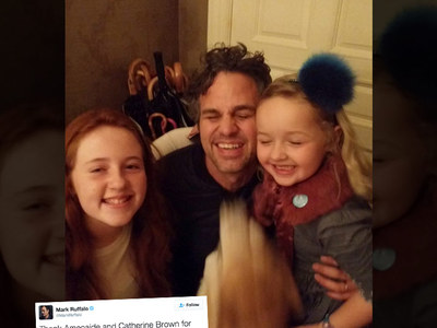 Mark Ruffalo -- Thanks Pint-Sized Good Samaritans ... Now Here's Your Reward