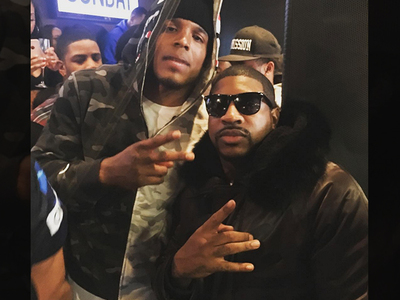 Cam Newton -- Dabbin' In the Club ... After Crushing Cardinals