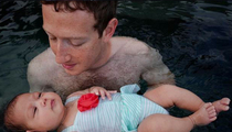 Mark Zuckerberg --  Aqua Baby (PHOTO)