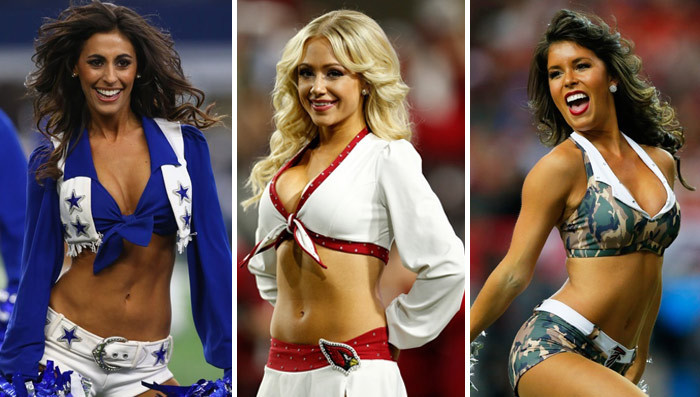 Image result for sexy nfl cheerleaders