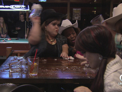 'Little Women: LA' -- Bar Brawl Video ... Face Shots & Glasses Flying (VIDEO)