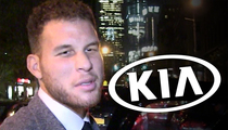 Blake Griffin -- Kia Mum On Future with NBA Star