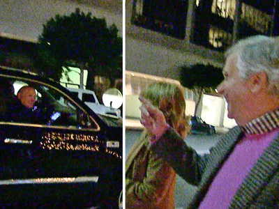 Terry Bradshaw -- STREET HECKLING ... Hey Henry Winkler!! (VIDEO)