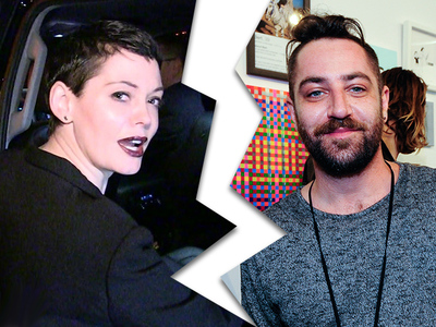 Rose McGowan Files for Divorce