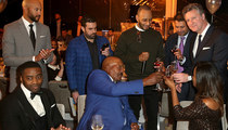 Jim Brown -- 80th Bday Bash ... $35,000 Toast!!!