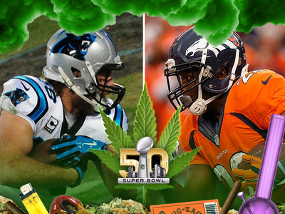 Super Bowl 50 -- Get High for Less