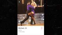 Michael Sam -- Using 'DWTS' Pics to Pull Dudes on Tinder