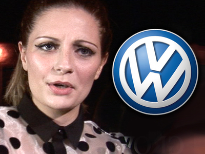 Mischa Barton -- Volkswagen Gunning For Its Car Back
