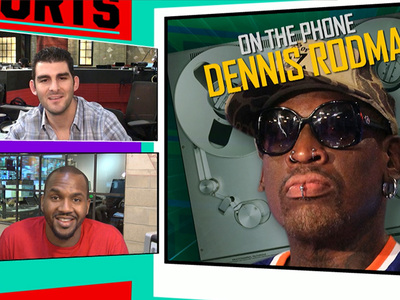 Dennis Rodman -- Hey Phil Jackson ... Here's Why I Should Coach the Knicks! (Video)