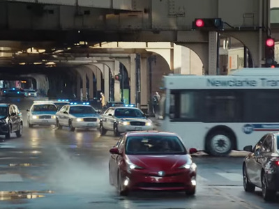 Prius Super Bowl Ad -- Cops Call BS ... That Thing Will NEVER Outrun Us! (VIDEO)