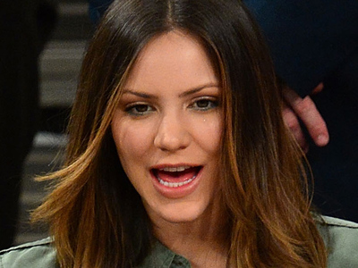 Katharine McPhee -- I Didn't Cheat On My Husband ... WE WERE ON A BREAK!!!