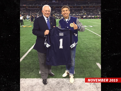 Jerry Jones -- Gunning for GGG vs. Alvarez Fight ... At AT&T Stadium