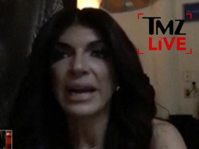 Teresa Giudice -- I Got Screwed Because I'm a Celebrity (VIDEO)