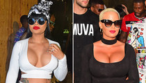 Amber Rose & Blac Chyna -- Trinidad T&A Party Don't Stop (PHOTOS)