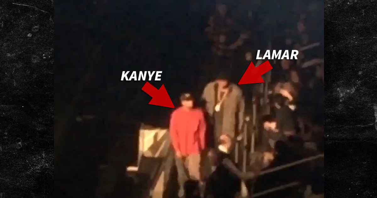 Kanye to lamar odom let me show you your seat for Madison square garden kanye west