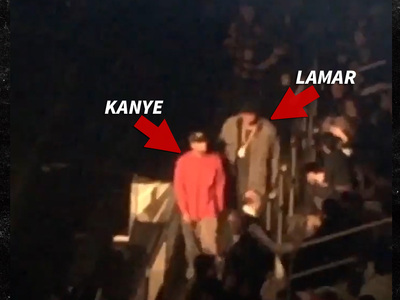 Kanye to Lamar Odom -- Let Me Show You to Your Seat!!! (VIDEO)