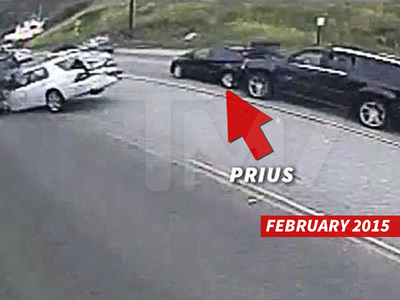 Caitlyn Jenner -- Sues Prius Driver in Fatal PCH Crash