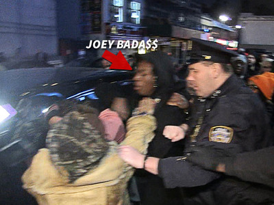Rapper Joey Bada$$ -- Brawls Outside Kanye's Show ... Don't Call Me A$AP Rocky, Bruh! (VIDEO)