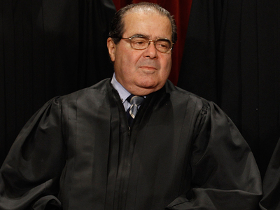 Supreme Court Justice Antonin Scalia -- Dead At 79