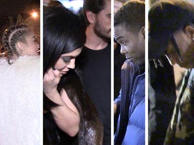 Rihanna -- Celebs Flock to Fashion Show