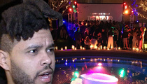 The Weeknd -- Grammy Party Shut Down by Cops