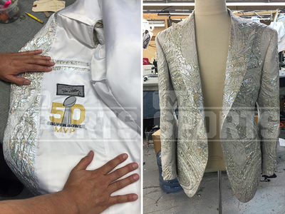 Von Miller -- Grammy Jacket Custom Made in 2 Days! (PHOTOS)
