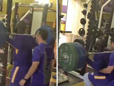 LSU's Leonard Fournette -- NEVER SKIP LEG DAY (VIDEO)