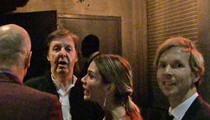 Paul McCartney -- DENIED at Grammy Party ... 'How VIP Do We Gotta Get?' (VIDEO)