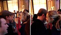 Leonardo DiCaprio -- The Blonde Whisperer (PHOTO)
