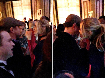 Leonardo DiCaprio -- The Blonde Whisperer (PHOTO)