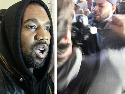 Kanye West -- I'm a Paparazzi Peacemaker Now!!! (VIDEO)