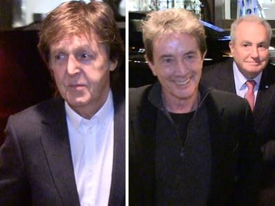 Paul McCartney -- No Problem Getting a Table ... with Jimmy Fallon, Martin Short and Lorne Michaels (VIDEO)