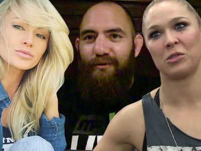 Ronda Rousey's BF -- Officially Divorced