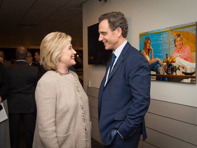 Hillary Clinton Visits 'Scandal' -- So, About This President Thing ... (PHOTOS)