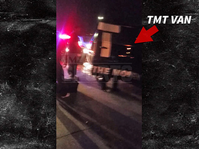 Floyd Mayweather -- The Money Team in Car Wreck (VIDEO)