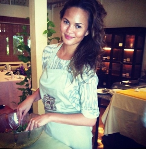 <p>Today is<span>Personal Chef Day</span> ... and who better to get your butter churning than amateur chef<span>Chrissy Teigen</span>?! What's cookin', good lookin'?</p> <span></span>