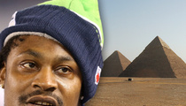Marshawn Lynch -- Going Beast Mode In Egypt
