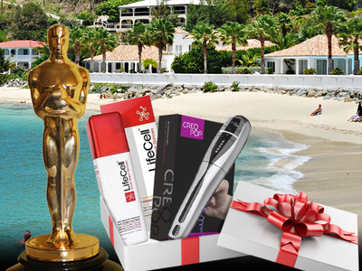 Oscars Swag Suite -- $20k Worth of Vacays, Fat Burning & Schmancy Gum