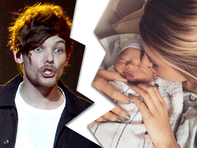 Louis Tomlinson -- Custody Fight ... Baby Mama Won't Let Me See My Kid