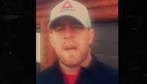 J.J. Watt -- Locks Himself Out of Cabin ... Seeks Refuge In Gym