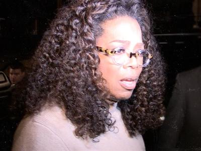 Oprah Winfrey -- Loses $24 Million in One Day ... Thanks, Weight Watchers!