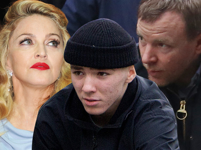 Madonna, Guy Ritchie -- Showdown in Rocco Custody War
