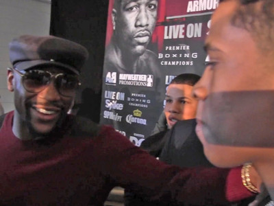 Floyd Mayweather -- Blown Away By 15-Year-Old Fighter ... We'll Sign Him! (VIDEO)