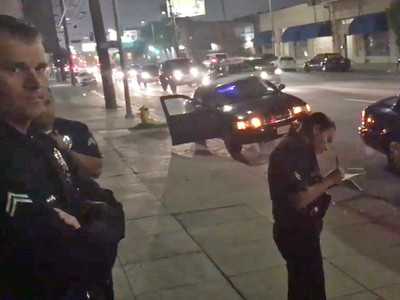 Nick Young -- Busted for Loud Music ... Claims Cops Mocked Lakers (VIDEO)