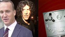 Howard Stern -- Epic Peyton Manning Prank Call (AUDIO)