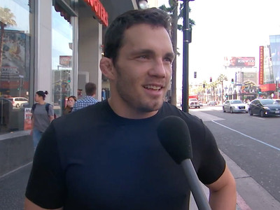 UFC Fighter -- Busted In Voting Lie ... On 'Jimmy Kimmel'
